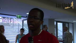 dayron robles im interview by fartlek istaf 2013