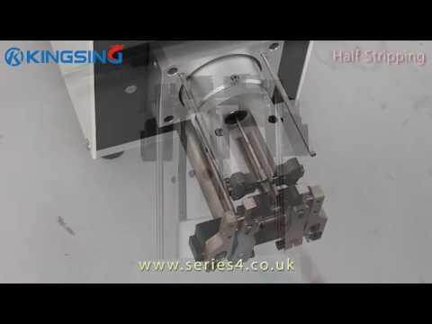rotary wire stripping machine