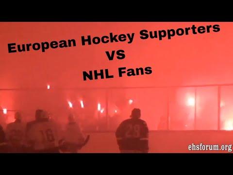 NHL VS European Hockey Fans (NON WMG COPYRIGHT For US Folks)