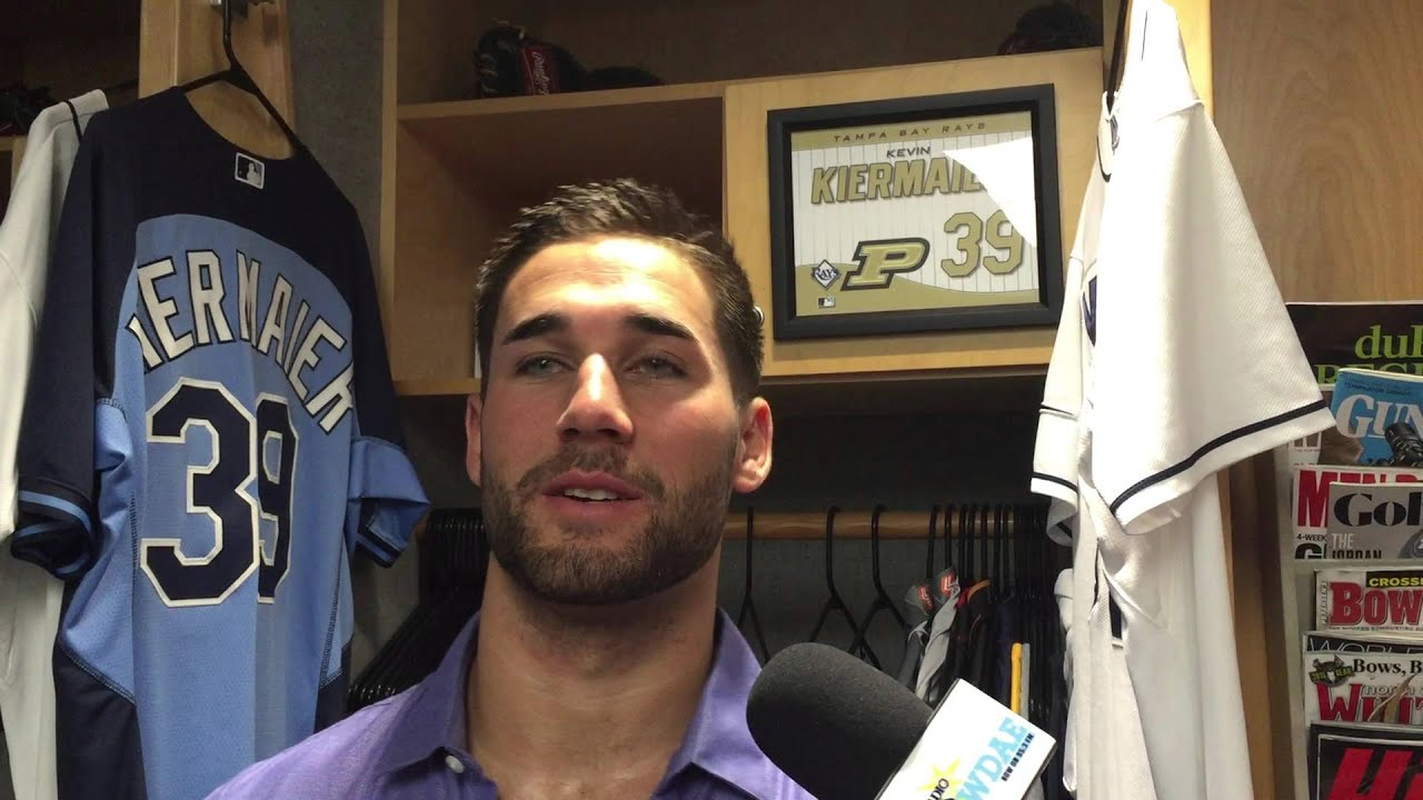 0001c808c82 Rays  Kevin Kiermaier On Walk-Off  Really Cool Moment For Me - YouTube