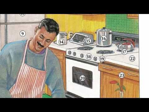 Oxford dictionary | Lesson 28: A Kitchen | Learn English | Oxford picture dictionary