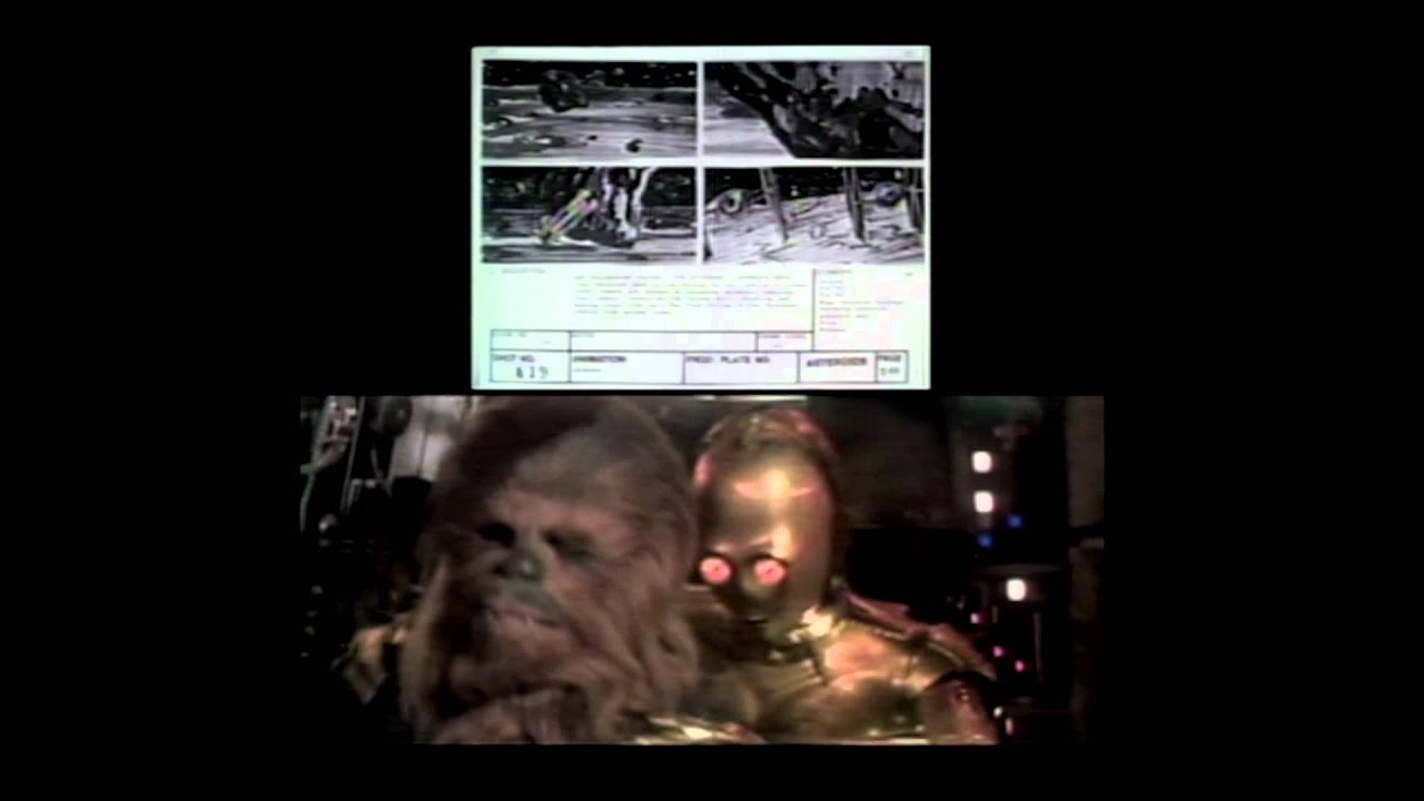 The Empire Strikes Back Featurette: The Flight Through the Asteroids - A Storyboard Comparison