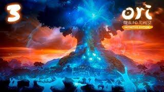 Ori and the Blind Forest прохождение на геймпаде часть 3 История Древа