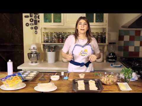Recetas - Canastitas de jamón y queso - La Salteña