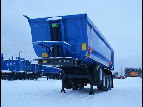 Косяки самосвального полуприцепа Тонар. Shoals Tipper Semi-trailer Tonar