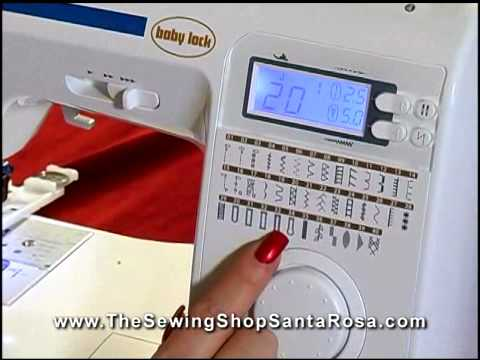 Sewing Machine Demo Part 40 Grace YouTube Cool Babylock Grace Sewing Machine
