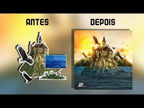 Manipulação de IMG - Castelo no Mar Otavio Art Designer