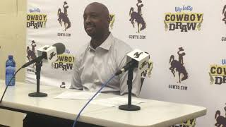 Wyoming coach Allen Edwards discusses 'another blown opportunity' in loss to UNLV
