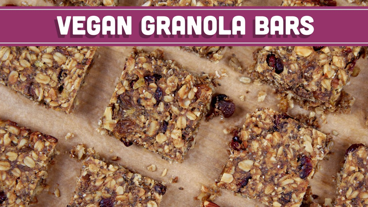Homemade granola bars vegan gluten free mind over munch youtube ccuart Image collections