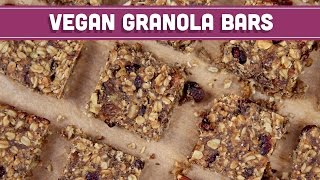Homemade Granola Bars, Vegan & Gluten Free! - Mind Over Munch