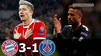 Bayern Munich vs Paris Saint Germain (3-1) - All Goals & Highlights HD 2017
