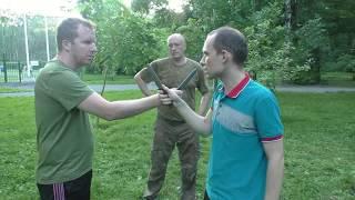 Systema Spetsnaz - Individual Training in Moscow, Sokolniki Park Vadim Starov August 2017