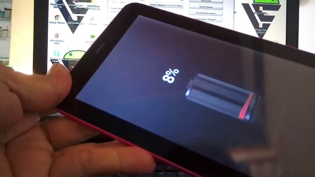 Extraer rom y Flashear tablet ipro i9700