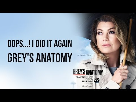 Oops...! I Did it Again - Cover | Grey's Anatomy OST