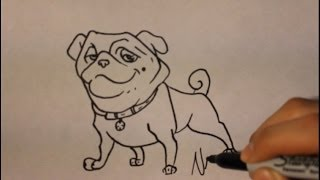 How To Draw Bulldog (precious) |easy Step By Step|como Dibujar Un Perro Paso A Paso 3