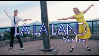 Repeat youtube video La La Land IN REAL LIFE - City of Stars & A Lovely Night - Evynne & Peter Hollens