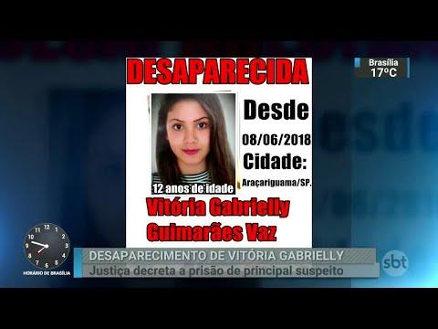 Justiça decreta prisão de suspeito do desaparecimento de adolescente | SBT Brasil (15/06/18)