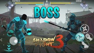Shadow Fight 3 How to Beat Sarge   Chapter 1 Boss    Shadow Fight 3 Official Boss Battle SARGE