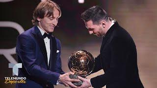 El Mensaje De Modric A Messi Al Darle El Balón De Oro | Telemundo Deportes
