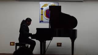 J S Bach: Invention no. 14 in B flat Major BWV 785