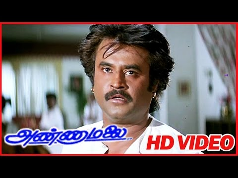 Best Scenes Of Tamil Movies | Annamalai | Emotional Scenes | Rajinikanth | Vinu Chakravarthy