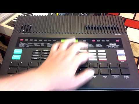 Yamaha RX5 demo (default voices)