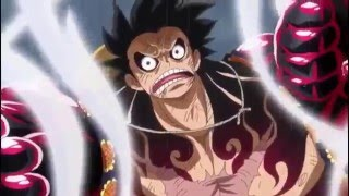 luffy vs doflamingo amv gear 4 forget the pain