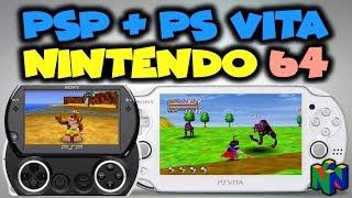 PSP/PS VITA DaedalusX64 v1.1.8 UPDATE! (N64 Emulator Test)