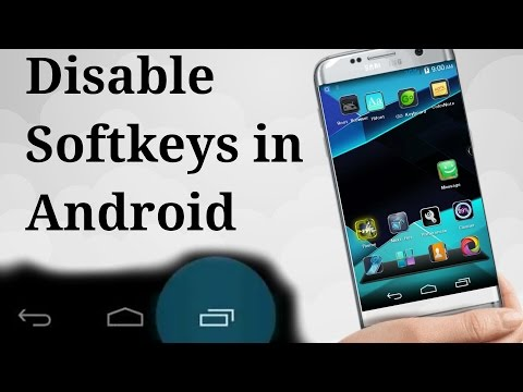 [ How To ] Disable Soft Keys On Navigation Bar In Android Device