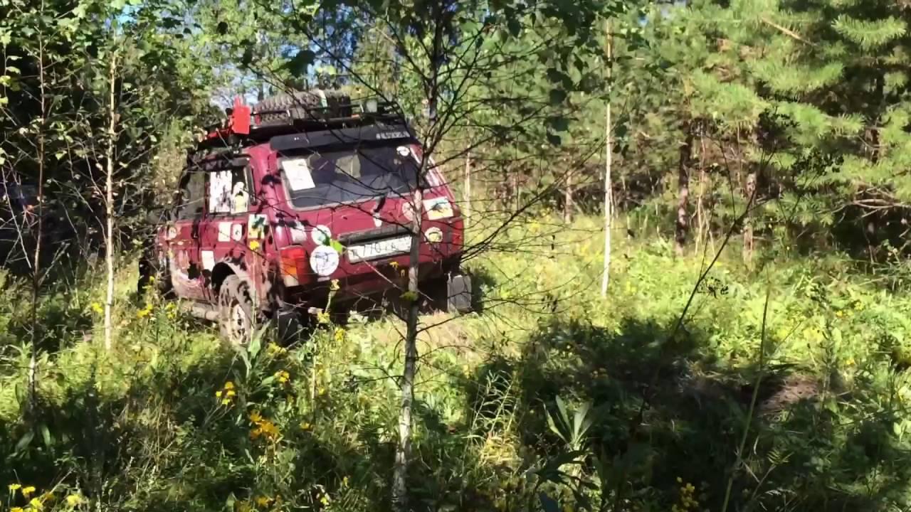 Экспедиция на Нивах в магические места Омск . Off road. 4x4 Omsk