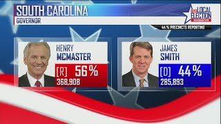 McMaster projected winner of SC governor's race