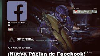 Nueva Página de Facebook    Halo 5: Guardians