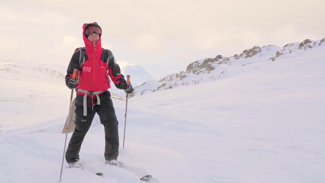 day 4 lyngen alps ski trip