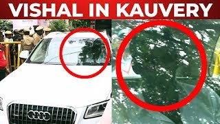 JUST IN: Vishal Spotted in Kauvery Hospital | M. Karunanidhi | FIR 03