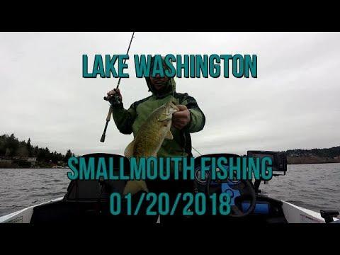 Smallmouth fishing 1-20-18