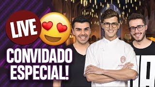 LIVE: COM PARTICIPAÇÃO ESPECIAL DO ANDRÉ ROCHADEL DO MASTERCHEF PROFISSIONAIS 2018! | Virou Festa