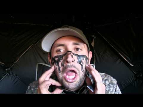 Hunting Facepaint 101- What NOT To Do! Hilarious!