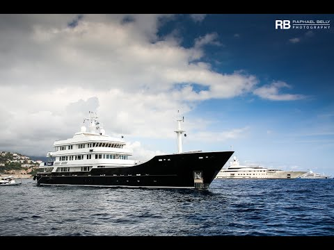 The US$ 50 Million Expedition Yacht Grand Rusalina owned by Rustem Teregulov