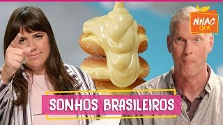 Gringulosos Gringos Provam Doces Brasileiros Feitos Por Raíza  Raíza Costa  Rainha Da Cocada