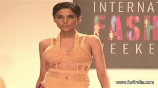 Models in See Through Dresses - Signature International Fashion Week 2013  - UNCUT