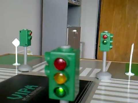 Plc Vipa 100 Traffic Lights Youtube