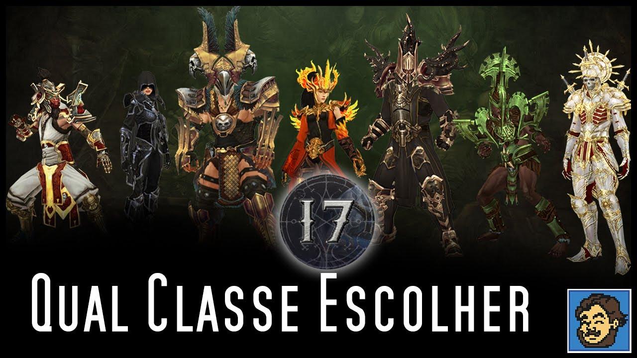 Diablo 3 - Melhores Classes para começar a Temporada 17!!!