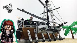 Lego pirate ship MOC : Dying Gull