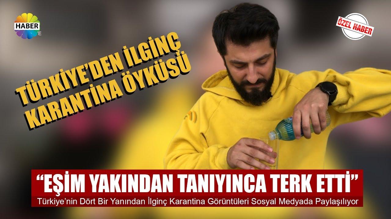 Kıbrıs'lı Türk'ün karantina kararına uymayan ingilizlere isyanı. İstey hom 3.