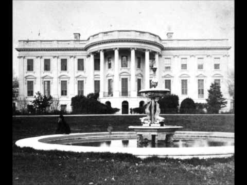 3D Stereoscopic Photographs of the White House (1800's)