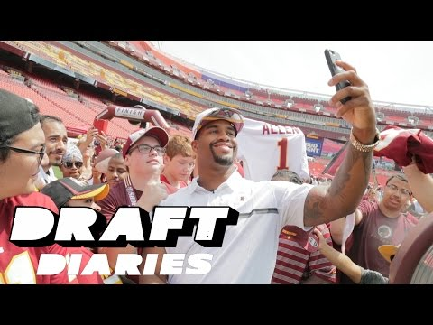 Jonathan Allen 2017 NFL Draft Journey All-Access | Washington Redskins | NFL