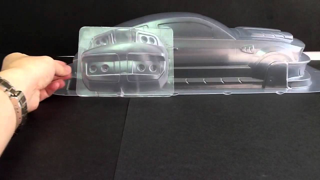 1 10 For Focus66 Mustang Gt350 Clear Body Rc Car Pc 12