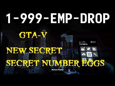 GTA V- A New Cell Phone SECRET NUMBER EGGS-Micheal-Trevor-Franklin