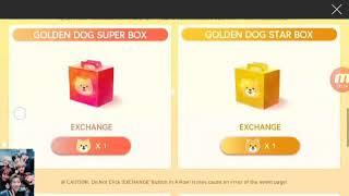 15/02/18 {SuperStar BTS} Day 1 Golden Dog EVENT Reward