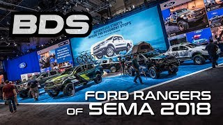 Ford Rangers of SEMA 2018